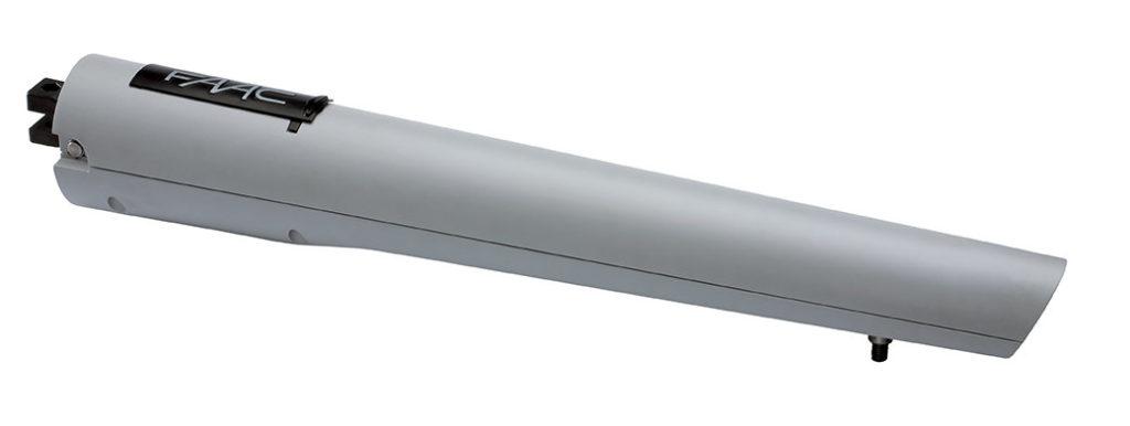 S418 Attuatore elettromeccanico 24V Larghezza max singola anta 2,3 - 2,7 m (con elettroserratura) Frequenza d'utilizzo Uso continuo